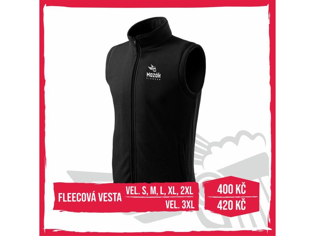 Web fleece vesta