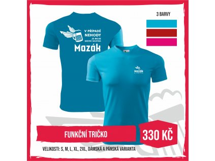 """Funkční triko """"Mazák"""""""