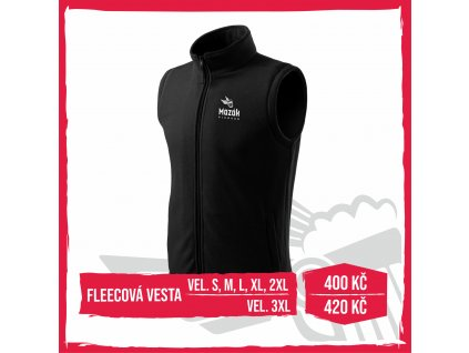 Web fleece vesta