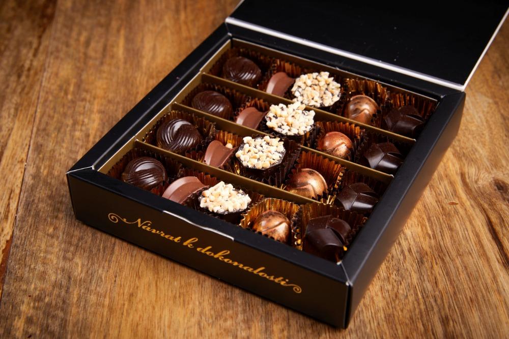 Informace o zasílání čokolády v letní sezóně