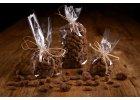 Oříšky a datle v 72% hořké čokoládě a skořici