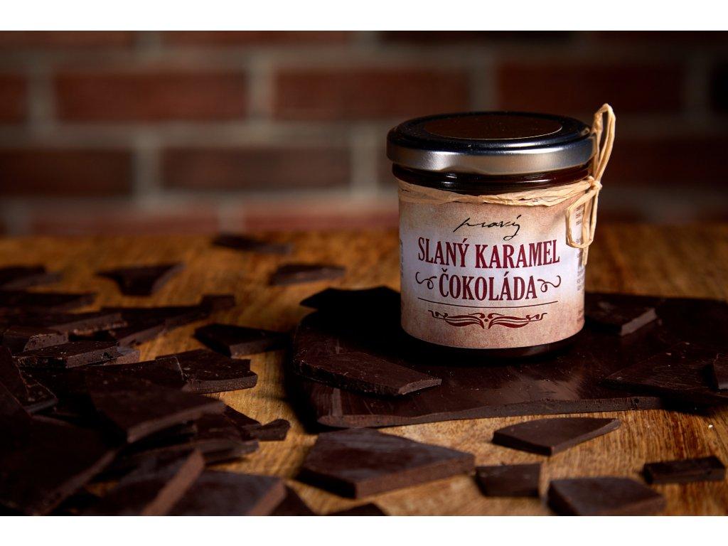 Slaný karamel - Čokoládový