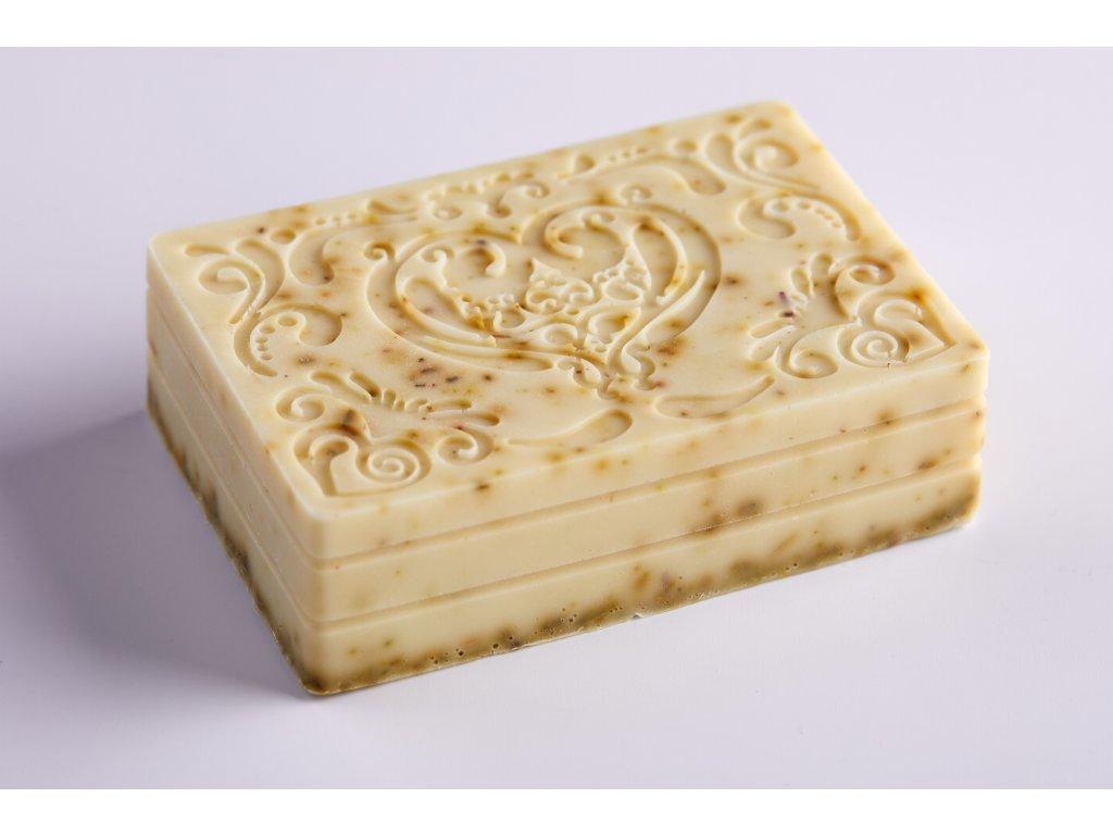 Mýdlo s kozím mlékem, bambuckým máslem a koloidním stříbrem - MATEŘÍDOUŠKA