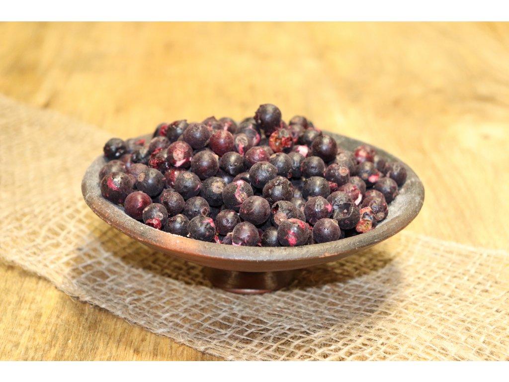 Lyofilizované ovoce -  Černý rybíz