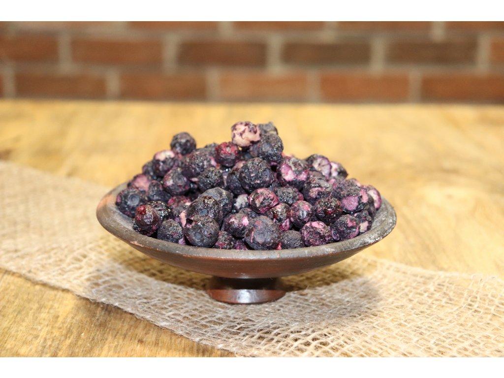 Lyofilizované ovoce -  Borůvky
