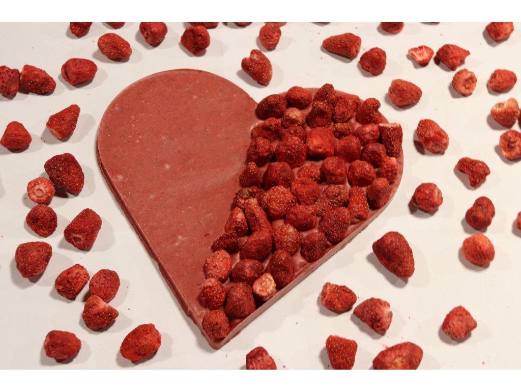 Jahodové srdce (upraveno)