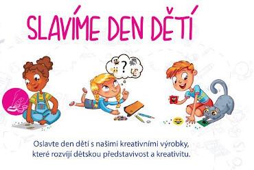 Oslavte den dětí 2020 kreativně