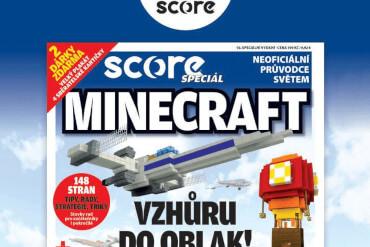 Velká Minecraft soutěž s časopisem Score