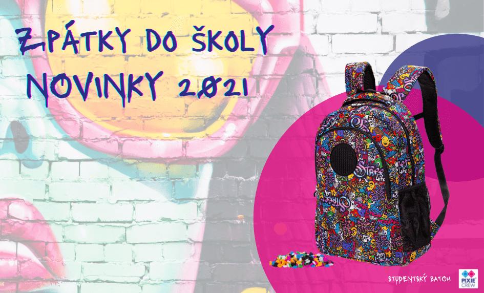 Studentský batoh Graffiti