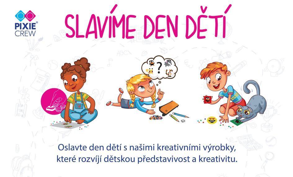 Oslavte Den dětí 2020 kreativně s produkty PIXIE CREW