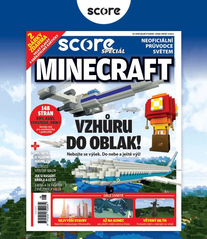 SCORE Minecraft 10. speciální vydání