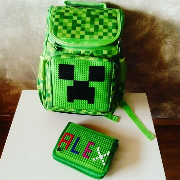 PIXIE CREW Pixelový školní batoh pro prvňáčky