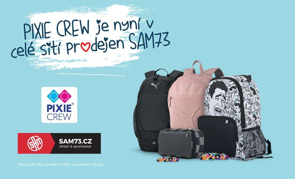PIXIE CREW můžete nyní zakoupit v prodejnách SAM73