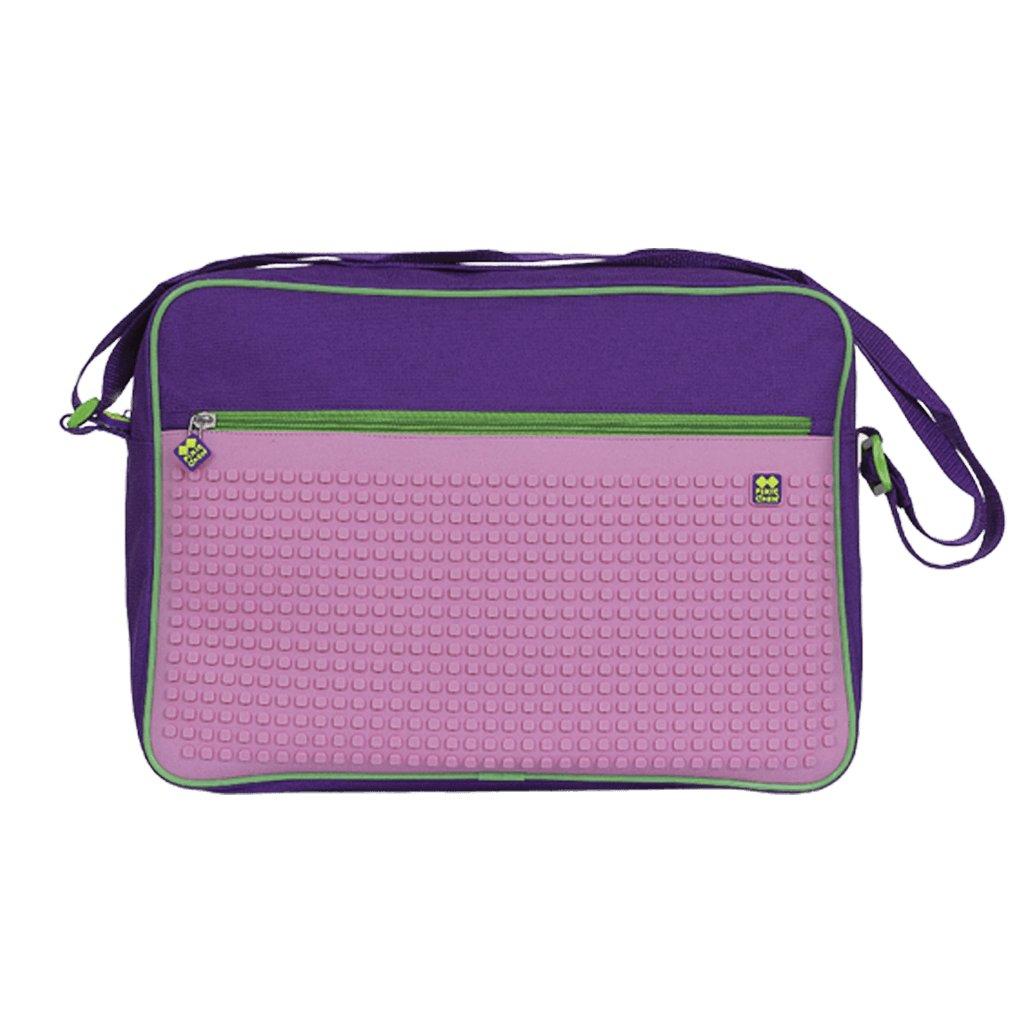 Pixie Messenger taška přes rameno fialově fuchsiová
