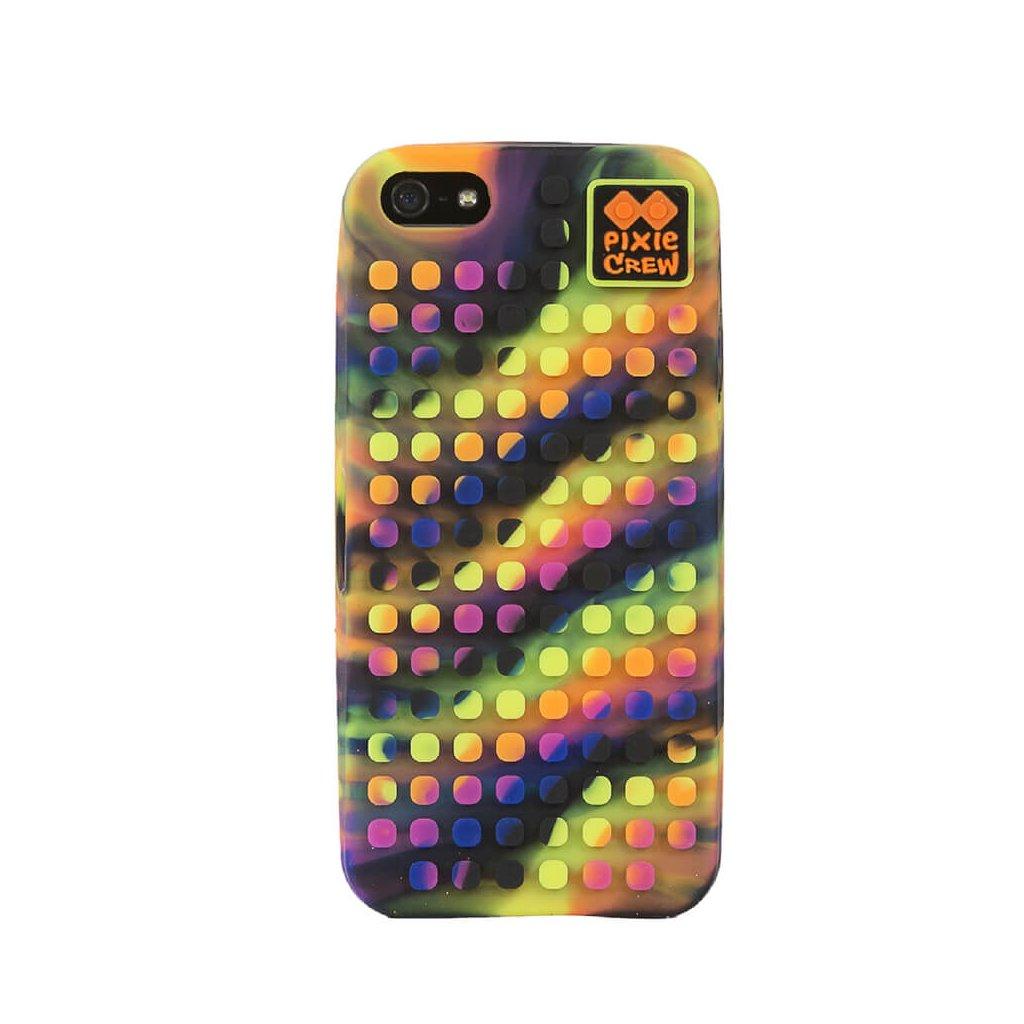 PIXIE CREW Pixelový kryt na iPhone 5 vícebarevný