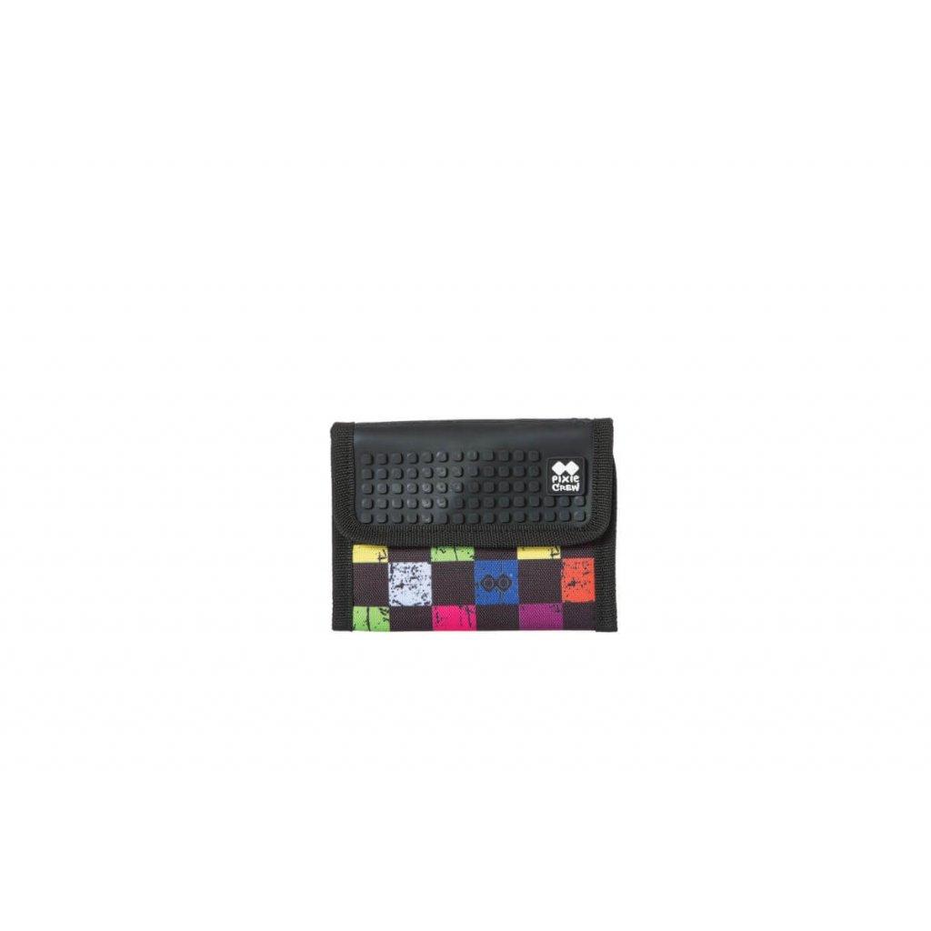 PIXIE CREW Pixelová peněženka barevné kostky