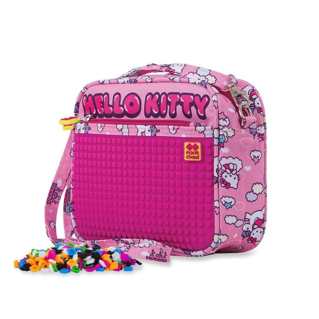 PIXIE CREW kabelka přes rameno HELLO KITTY RŮŽOVÁ