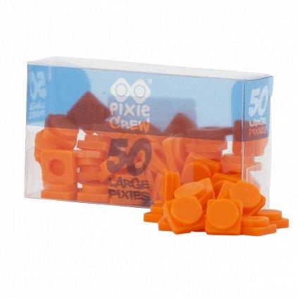 PIXIE CREW Velké pixely oranžové