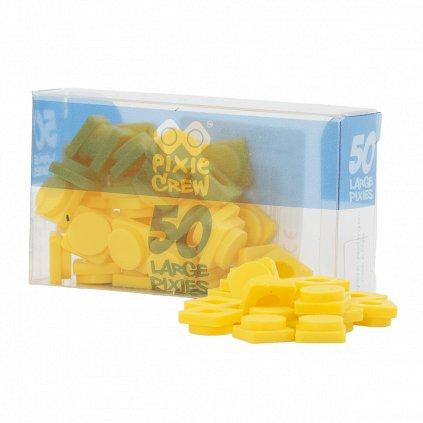 PIXIE CREW Velké pixely žluté