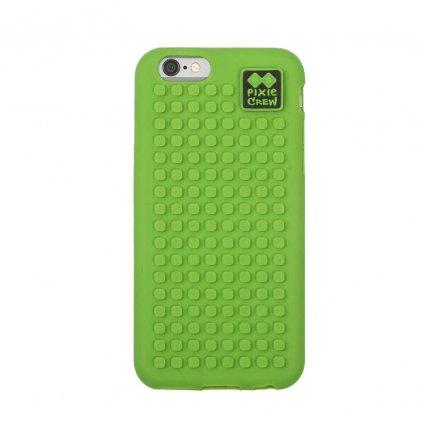 PIXIE CREW Pixelový kryt na iPhone 5 zelený