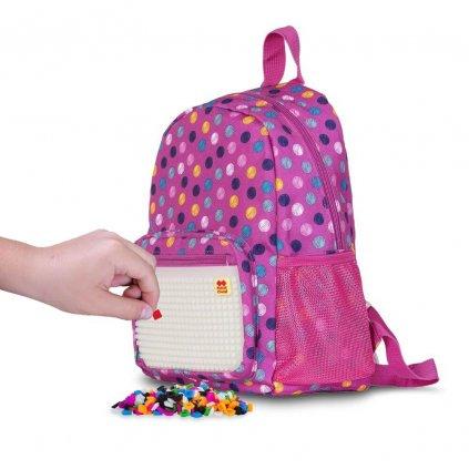 PIXIE CREW dětský batoh BUBBLEGUMS RŮŽOVÝ