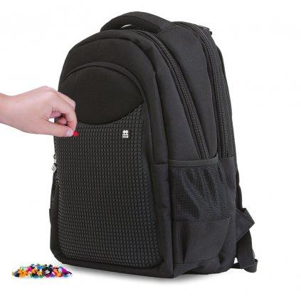 PIXIE CREW studentský batoh ČERNÝ