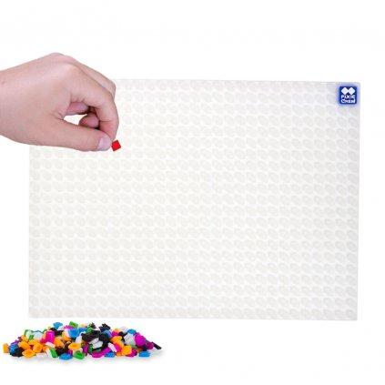 PIXIE CREW A4 pixelový edupanel bílý, průsvitný
