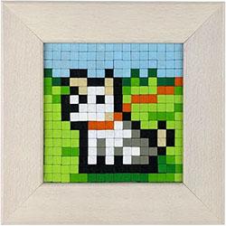 Dřevěná hračka PIXUPIX - 16x16_pixel_art_pes_dog_pixupix_02