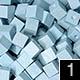 dřevěné pixely barva 1