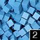 dřevěné pixely barva 2