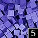 dřevěné pixely barva 5