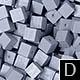 dřevěné pixely barva D