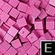 dřevěné pixely barva E