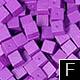 dřevěné pixely barva F
