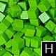 dřevěné pixely barva H