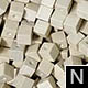 dřevěné pixely barva N