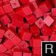 dřevěné pixely barva R