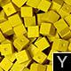 dřevěné pixely barva Y