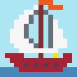 PIXUPIX_16x16_pixelart_lodka-ship