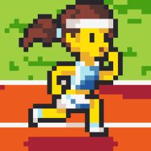 PIXUPIX_32x32_pixelart_atletka-athlete