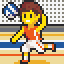 PIXUPIX_32x32_pixelart_volejbalista-volleyball_player