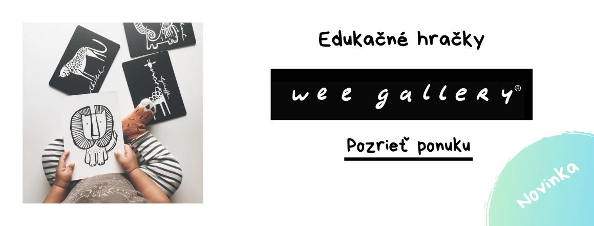 Wee Gallery - knihy do vody, kontrastné kartičky a ďalšie
