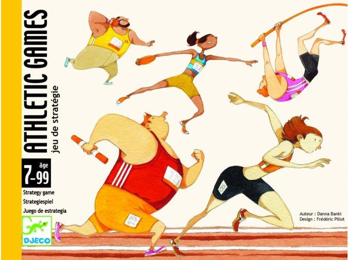 Djeco Kartová hra Athletic games (Atletické preteky)