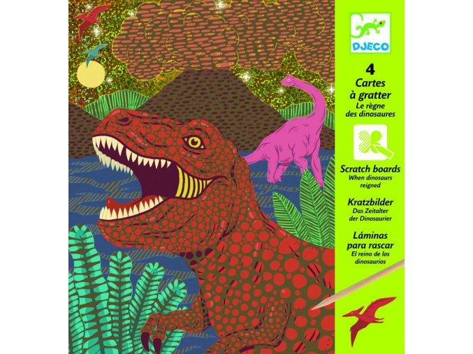 Djeco Vyškrabovačky Doba dinosaurov