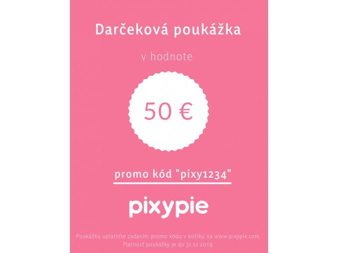 2018 11 22 Darčeková poukážka 50 eur