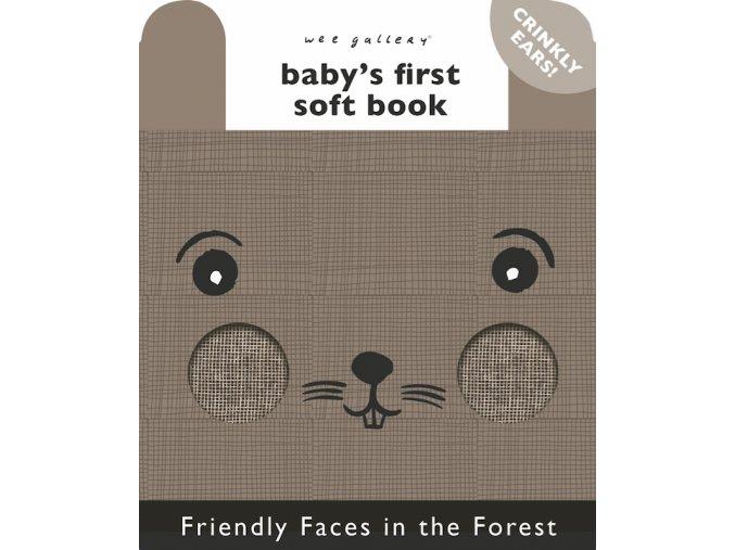 Wee Gallery Friendly Faces Forrest - látková kniha