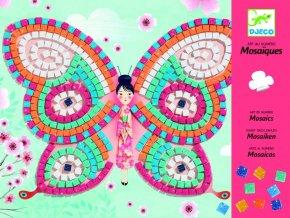 Djeco Penová mozaika - Motýle