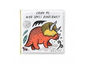 bath book Dinosaurs 500x500