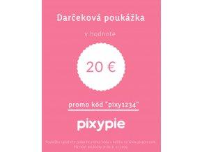 2018 11 22 Darčeková poukážka 20 eur