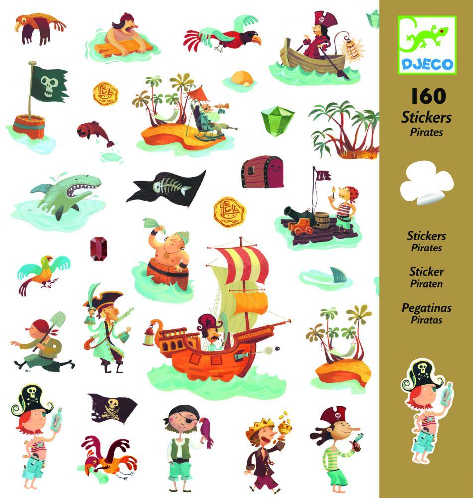 Samolepky Piráti Djeco